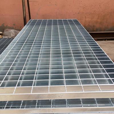 熱鍍鋅平臺鋼格板 水溝蓋板廠家定制 防滑踏步板 鋼格柵板重型鋼格板