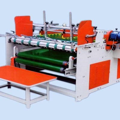 鑫亿东光设备压合式粘箱机  异型箱粘箱机    压合式糊箱机
