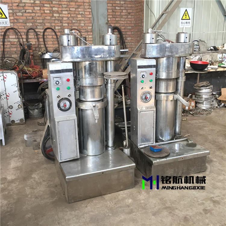 新式芝麻香油機廠家 韓式液壓不銹鋼榨油機 花生榨油機設備