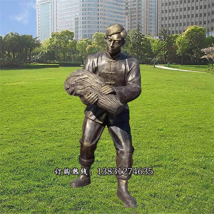 民俗风雕塑可定制 优质农耕人物雕塑供应商可定制 民俗雕塑设计专业生产唐韵雕塑