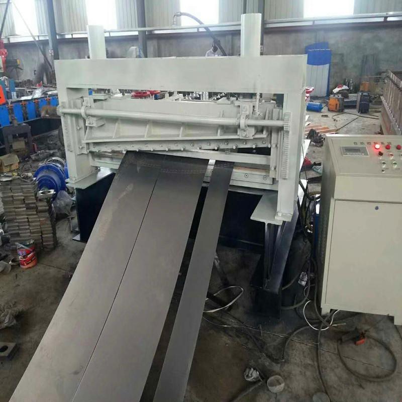 专业生产钢板整平机∞ 铝板铁板�K不锈钢板开平机