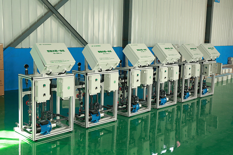 圣大节水 温室建设水肥一体化设备 灌溉施肥水肥一体机 厂家供应水溶肥施肥机示例图15