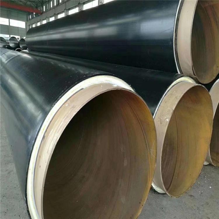 龍都供應 地埋熱水保溫管 循環供熱直埋保溫管 大口徑保溫鋼管