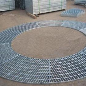 無錫鋼格板廠家定制  異形鋼格板  G505/30/100  扇形格柵板  圓形梯形鋼格柵板  專業CAD排版