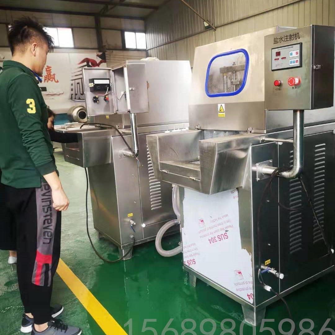廠家直銷 全自動鹽水注射機 牛肉鹽水注射機 肉制品加工成套設備