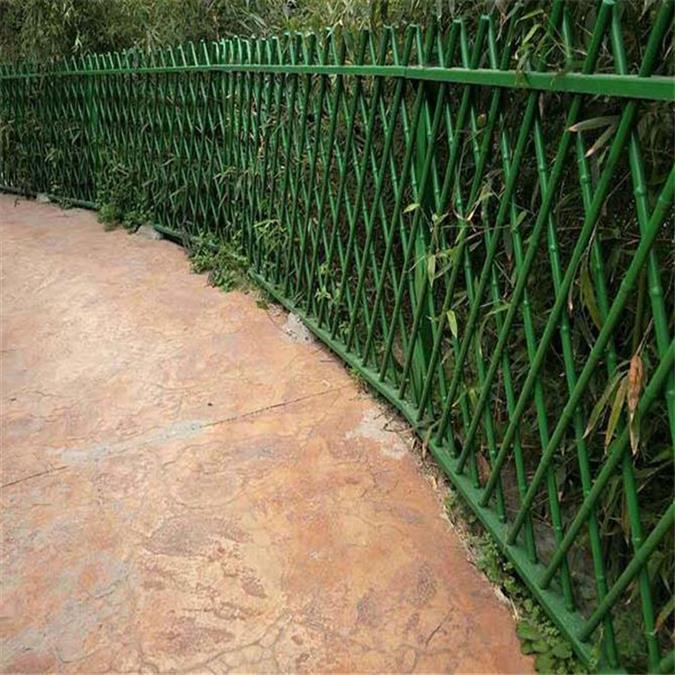 森都 竹型护栏制作 量大从优 仿竹护栏厂商 景观竹护栏 路边仿竹护栏 江苏仿竹护栏