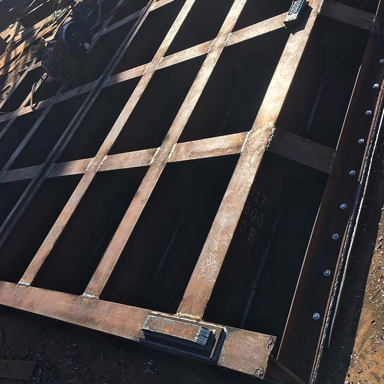 鼎禹廠家直銷鋼制閘門 水利閘門廠家 水閘門 鋼制閘門 定輪大型鋼制閘門加工定制