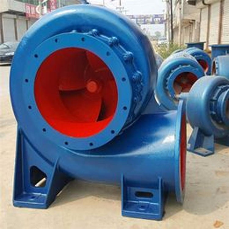 奧泉泵業生產 HW臥式混流泵 大流量農用排污泵 柴油機軸流泵 蝸殼式污水泵