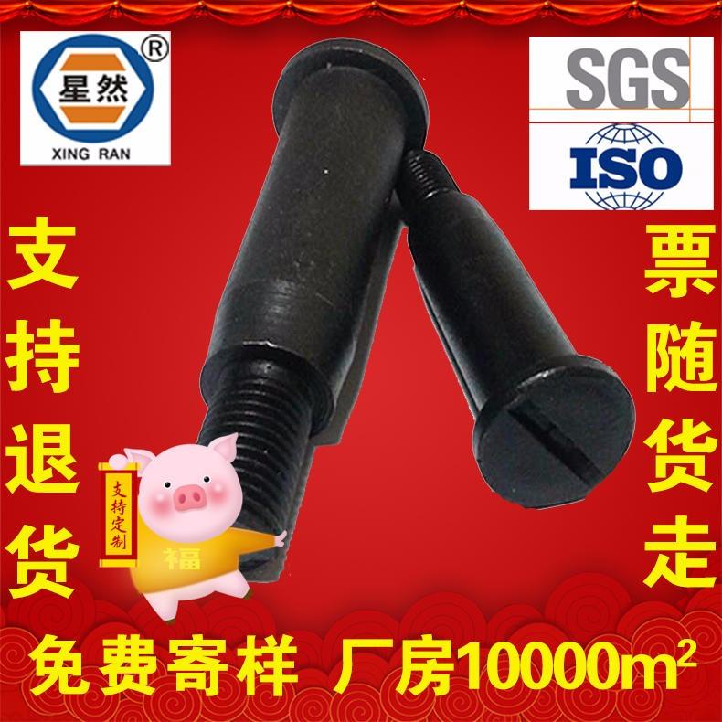 星哲现货 联轴器弹性柱销 靠背销螺栓 靠背丝 靠背螺丝 联轴器螺栓 联轴器螺丝 高强度8.8级 生产厂家M20