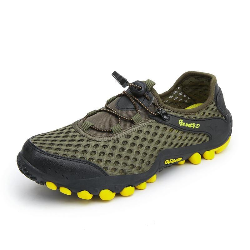 新款戶外透氣登山鞋 透氣網面鞋 耐磨防滑徒步鞋 DD-09