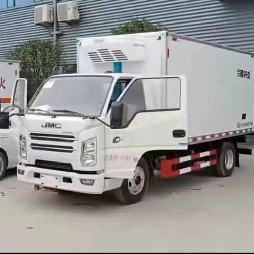 江鈴4.2米冷藏車 小型冷藏車公司價格