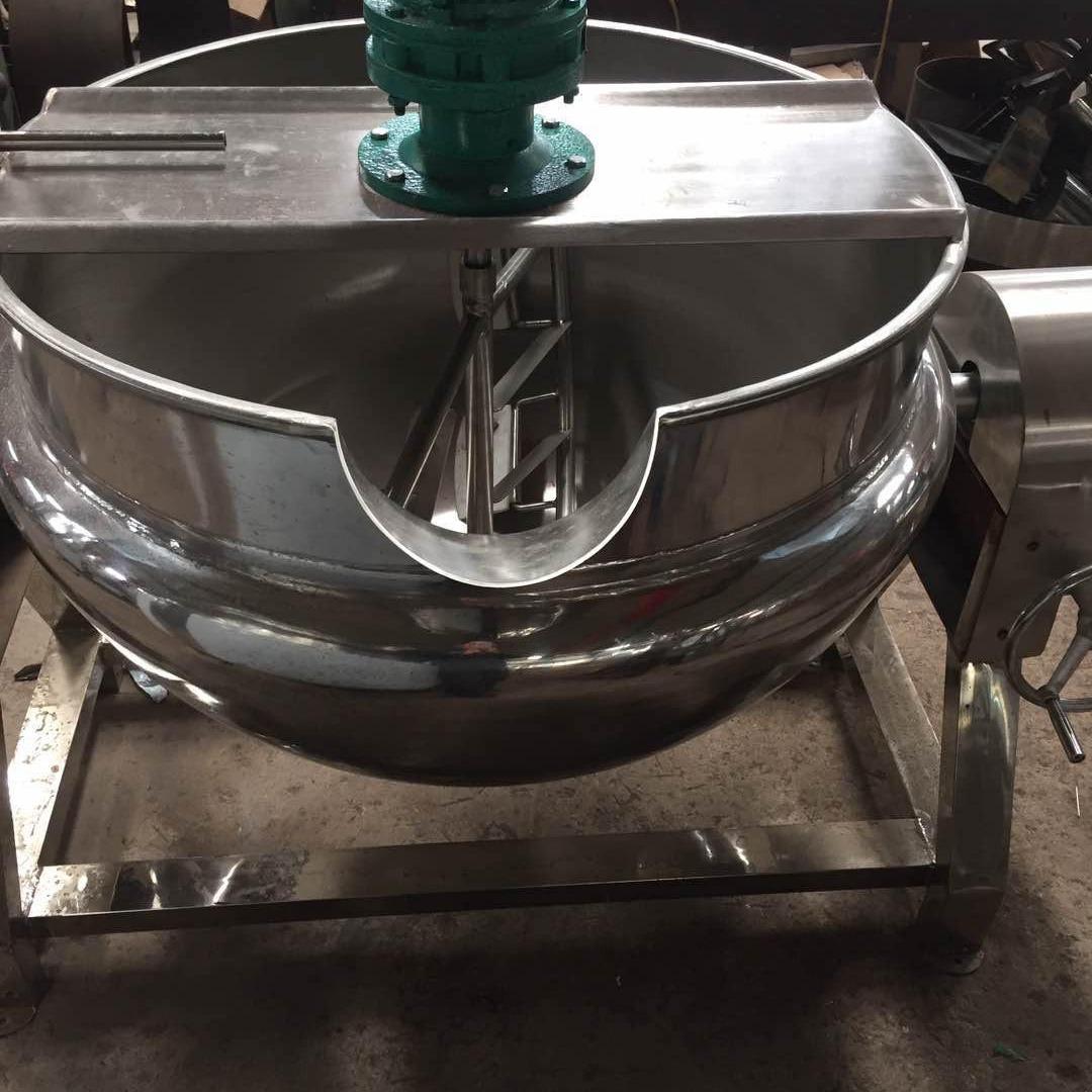 雙駿50-1000L蒸汽夾層鍋         鹵煮熬湯稀飯蒸汽夾層鍋  粽子牛肉高溫高壓蒸煮鍋