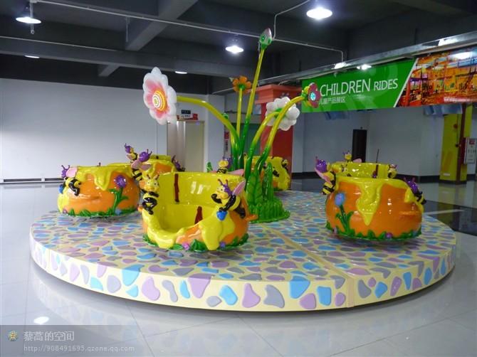 郑州大洋专业定制蜜蜂乐园给你不一样的娱乐体验 新款蜜蜂转杯示例图5
