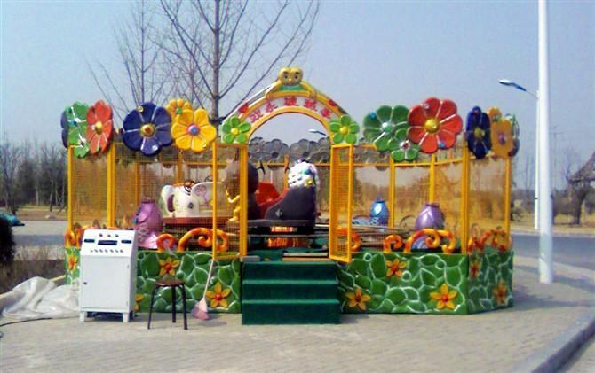 2020室内儿童游乐欢乐喷球车_新款欢乐喷球车项目_郑州大洋欢乐喷球车示例图2