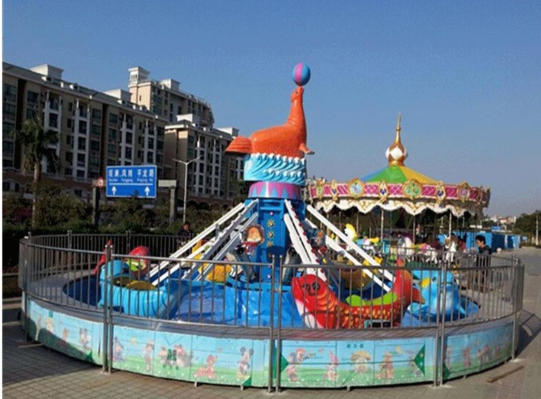 2020大洋精品推荐水上游乐海豚戏水 郑州海豚戏水的好游乐设备示例图11