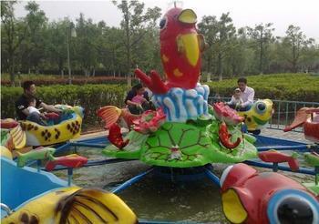2020  室内儿童游乐设备8臂鲤鱼跳龙门 郑州大洋鲤鱼跳龙门现货供应游艺设施厂家示例图5