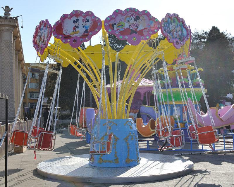 供应迷你飞椅儿童游乐设备 迷你飞椅小型游乐项目大洋生产厂家示例图5