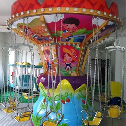 供应游乐场24座豪华飞椅 公园户外大型游乐项目飓风飞椅大洋直销示例图3