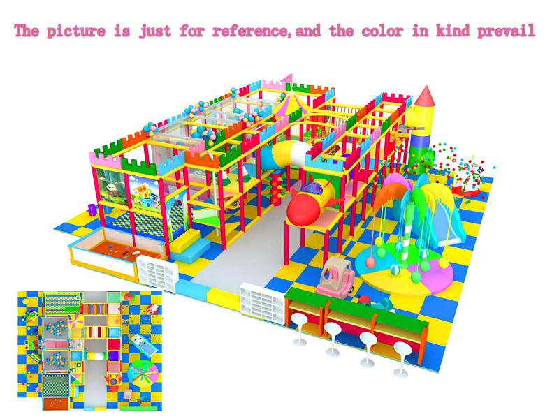 厂家直销淘气堡儿童游乐园  郑州大洋专业定制室内淘气堡项目儿童游艺设施设备示例图7