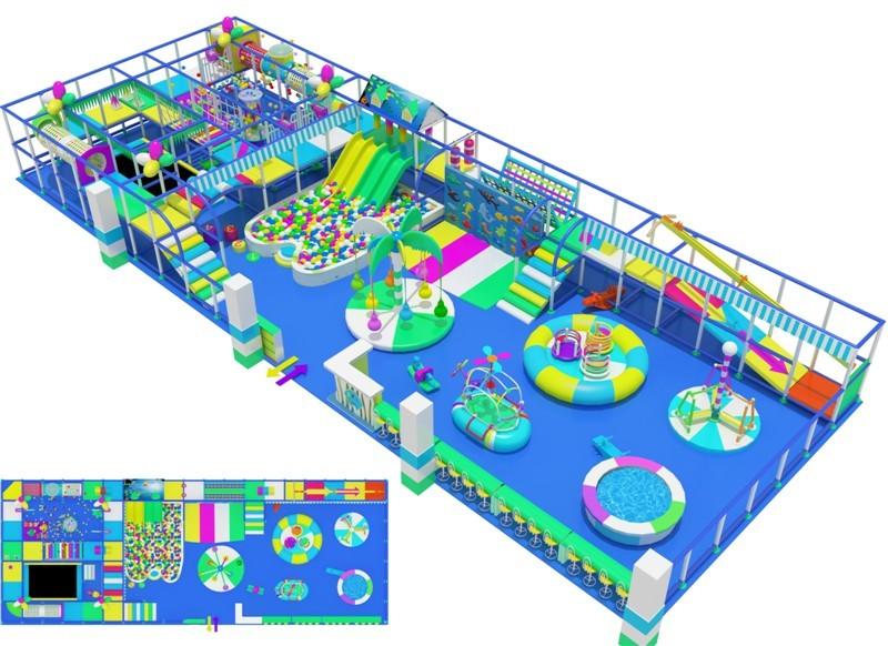 厂家直销淘气堡儿童游乐园  郑州大洋专业定制室内淘气堡项目儿童游艺设施设备示例图5