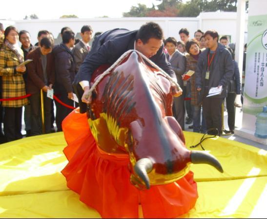 现货供应小型游乐设备斗牛机_大洋优质广场娱乐项目疯狂斗牛机示例图2