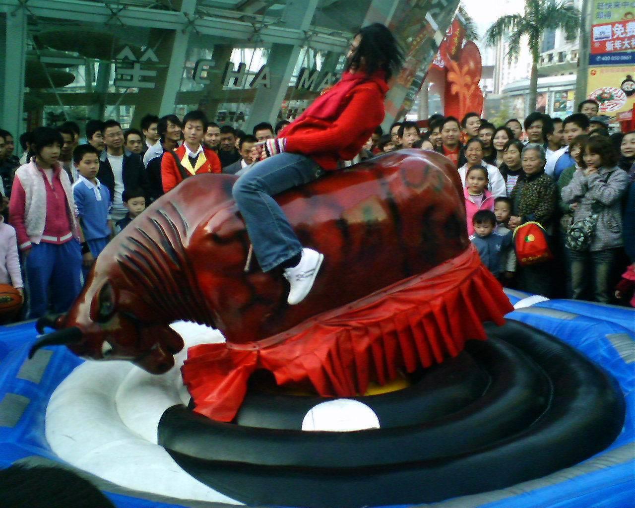 现货供应小型游乐设备斗牛机_大洋优质广场娱乐项目疯狂斗牛机示例图4