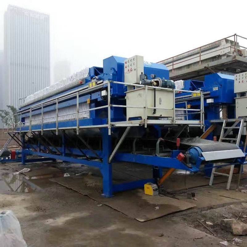 上海工地打桩泥浆处理  上海建筑打桩泥浆压榨过滤设备  上海工地泥浆打桩泥浆固化处理设备示例图5