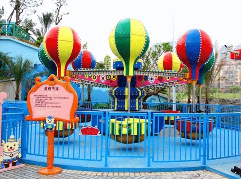儿童游乐设备桑巴气球 厂家直销 郑州大洋8臂桑巴气球公园游乐示例图3