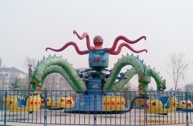 大洋游乐设备5臂旋转大章鱼  厂家直销现货供应30座旋转大章鱼示例图4
