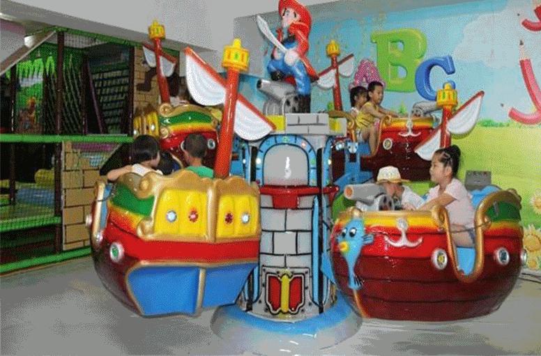 旋转海盗船儿童游乐设备 厂家直销室内豪华旋转海盗船大洋报价示例图9