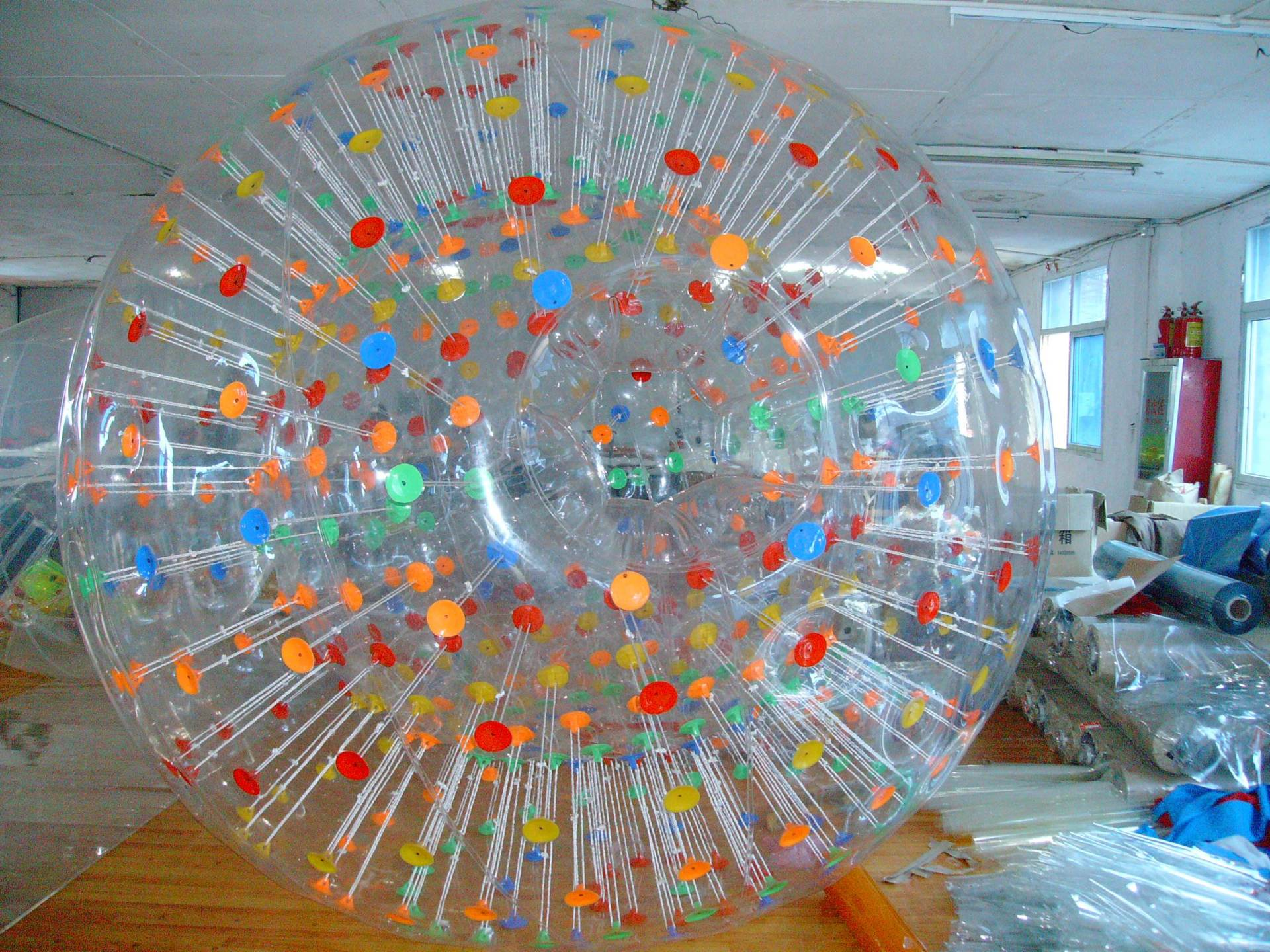 儿童游乐设备水上步行球 厂家批发 大洋现货供应彩色水上步行球项目游艺设施示例图8