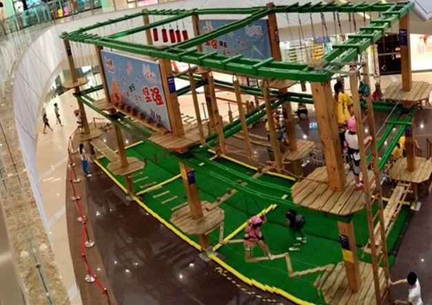 儿童拓展小型游乐设备,专业定制室内两层三层豪华儿童拓展训练大洋游艺设施厂家示例图5