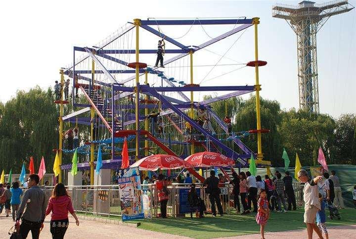 2020大洋游乐厂家直销儿童拓展,新款拓展训练冒险攀爬游乐项目游艺设施设备示例图9