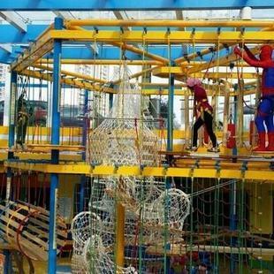 体能乐园儿童游乐设备 大洋大型户外游乐体能乐园训练款式新颖示例图15