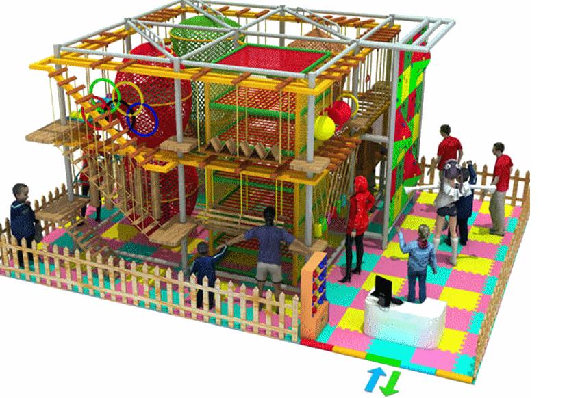 室内拓展训练游乐设备儿童拓展 按场地专业定制豪华儿童拓展项目示例图4