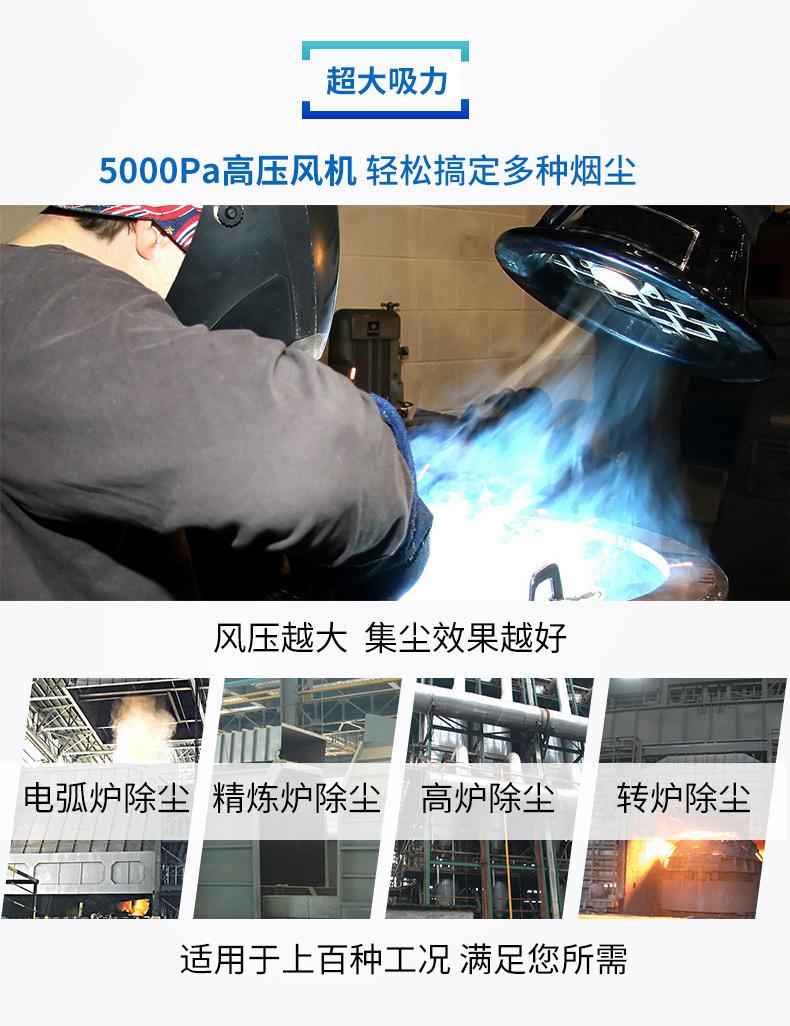沙克龙除尘器 多管多级旋风除尘器 粉尘离心分离设备 嘉辰环保 山东青岛示例图7
