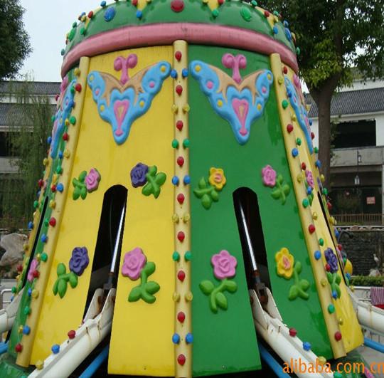 厂家直销户外游乐设备8臂旋转小蜜蜂  大洋卡通旋转小蜜蜂游乐儿童游艺设施示例图13