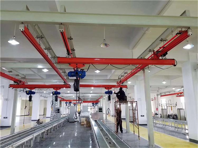 厂家直销FORT牌KBK1吨组合式柔性起重机 1吨KBK起重机 1吨组合式起重机 1吨柔性吊 流水线起重机示例图12