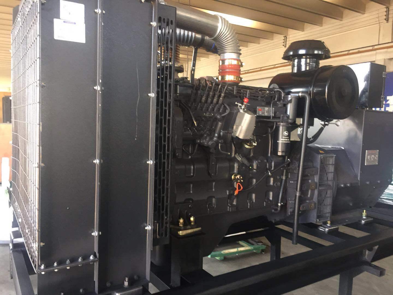上海凯讯150KW柴油发电机组 配上海斯坦福电机 纯铜电机 电压220V/380V 电流270A 欢迎新老顾客考察参观示例图2