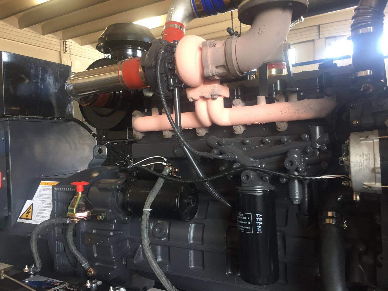 上海凯讯150KW柴油发电机组 配上海斯坦福电机 纯铜电机 电压220V/380V 电流270A 欢迎新老顾客考察参观示例图14