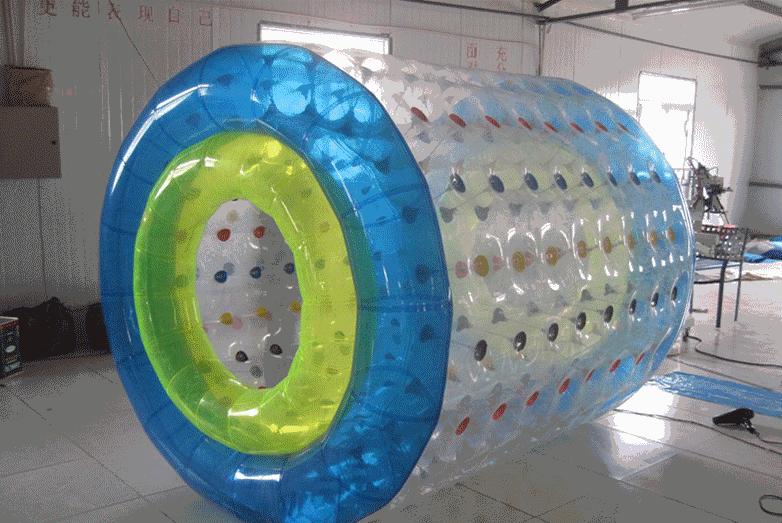 夏季畅销广场水上滚筒 专业定制休闲娱乐水上滚筒大洋游乐设备儿童游艺设施厂家示例图4