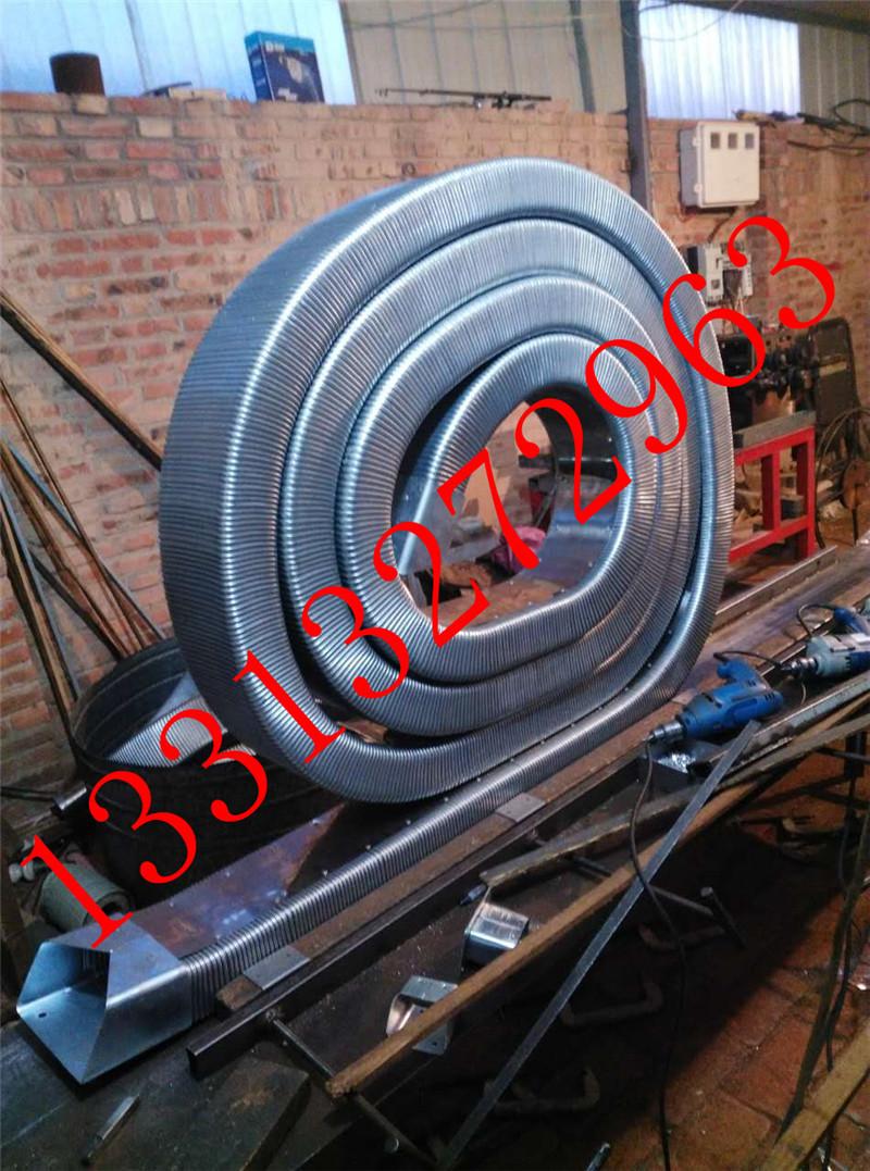 弯曲灵活穿线矩形管 矩形金属软管 线缆保护移动拖链 金属矩形管  耐高低温示例图9