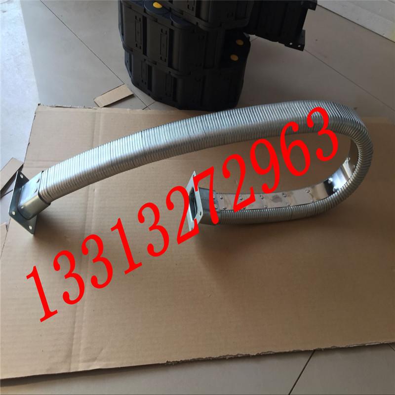 35.60JR-2矩形金属软管 线缆保护金属软管 金属矩形管 穿线矩形管 穿线拖链纯金属原材料制成示例图6