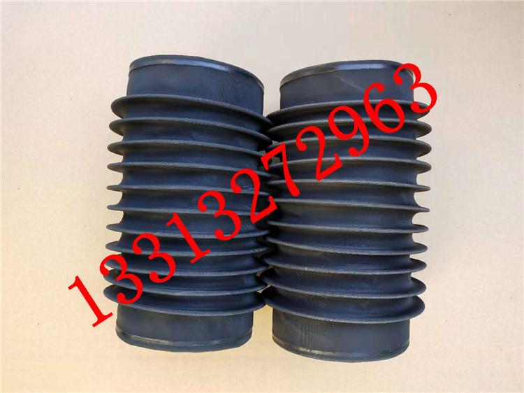圆筒伸缩式丝杠防护罩 油缸圆形防尘罩 气缸光轴保护套 伸缩式圆形防护罩可以水平或垂直使用示例图6