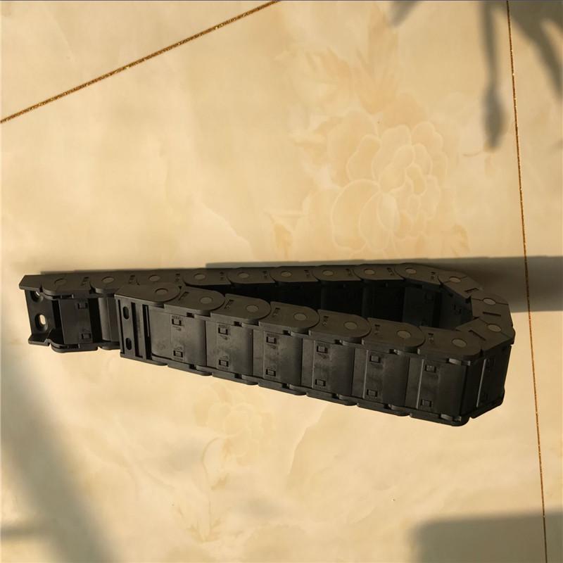 昊旭牌塑料拖链  尼龙机床拖链  10*10型塑料拖链  56*300塑料拖链示例图2