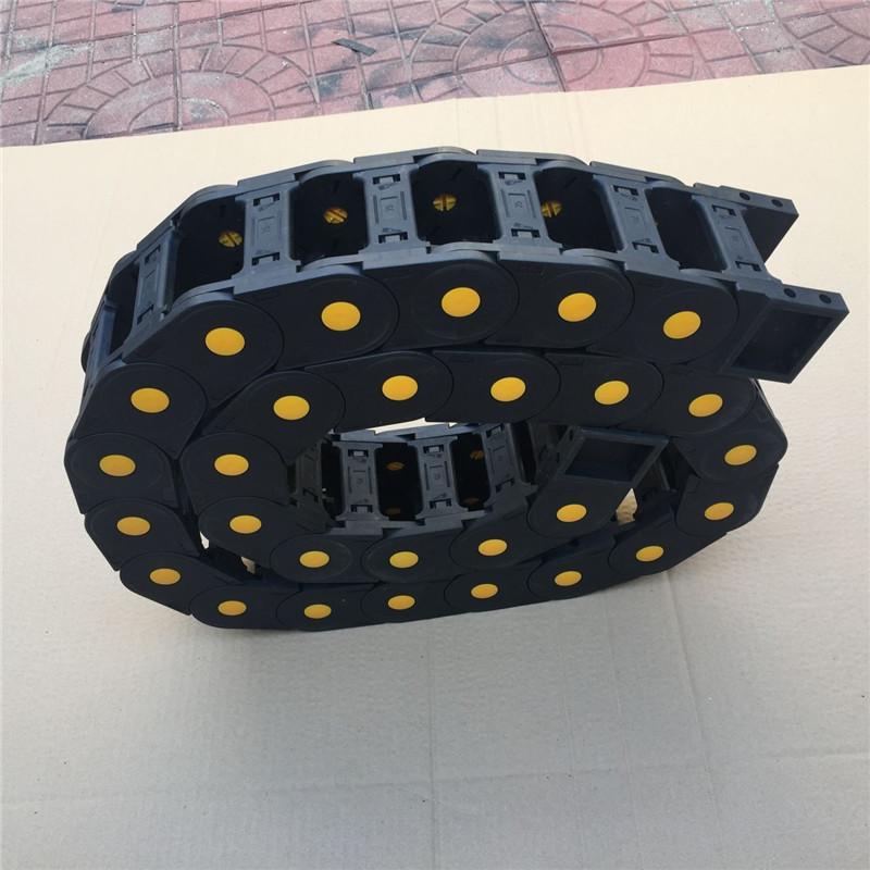 昊旭牌塑料拖链  尼龙机床拖链  10*10型塑料拖链  56*300塑料拖链示例图3