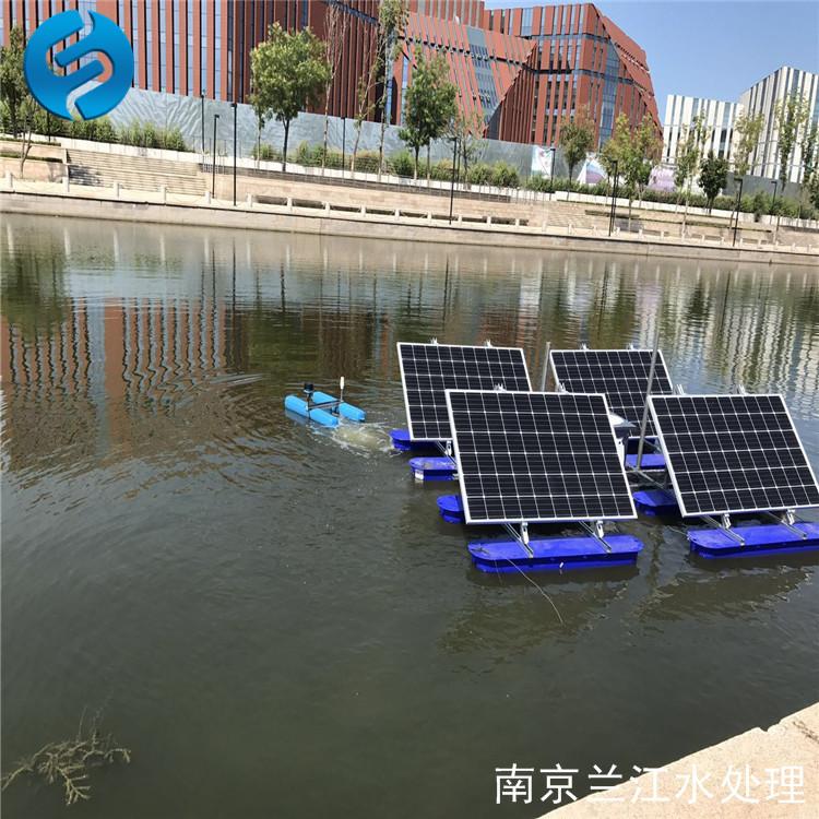 南京兰江SPS-ZL节能式太阳能增氧曝气机示例图2