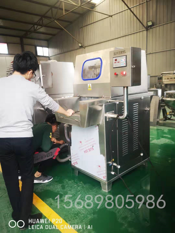 厂家供应全自动盐水注射机 盐水腌渍设备 驴肉全自动盐水注射机示例图5