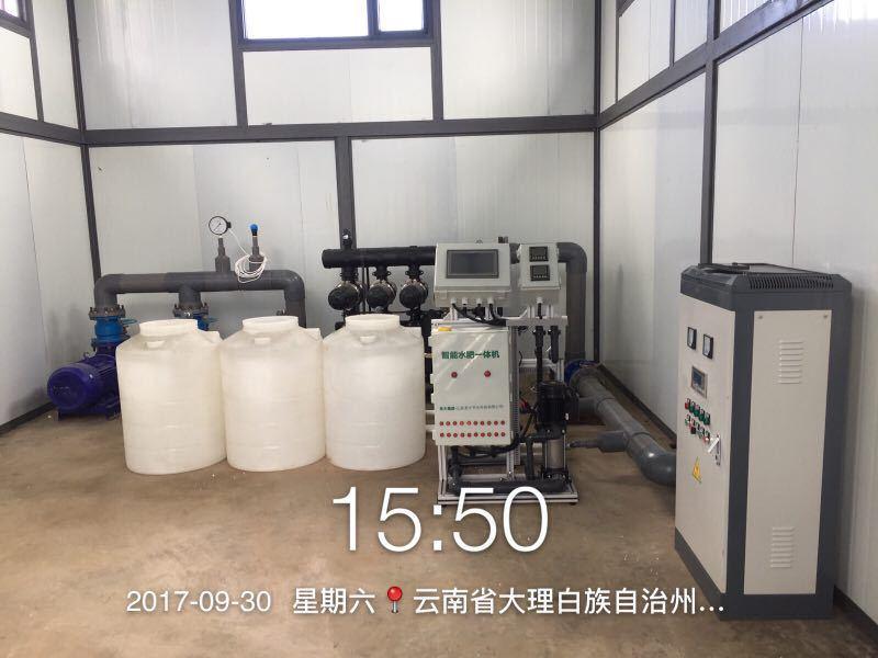圣大节水 温室建设水肥一体化设备 灌溉施肥水肥一体机 厂家供应水溶肥施肥机示例图19