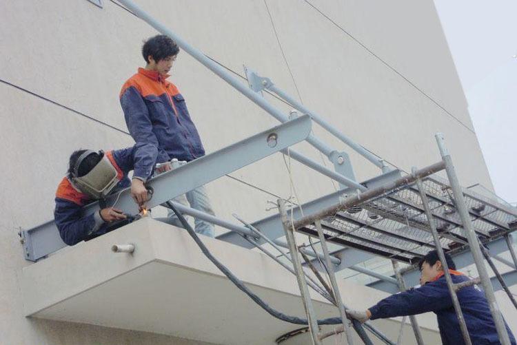 上海赛轩雨棚,不锈钢雨棚,玻璃雨棚,上海雨棚厂家示例图24